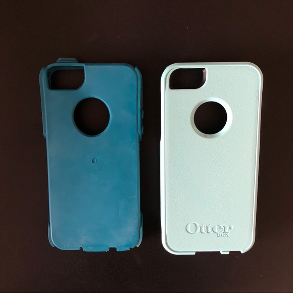 hot sales 2781e a3fc1 •// OtterBox iPhone 5s Case — Teal & Turquoise